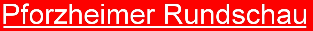 Pforzheimer Rundschau - unabh�ngige Online - Zeitung aus Pforzheim (Logo)
